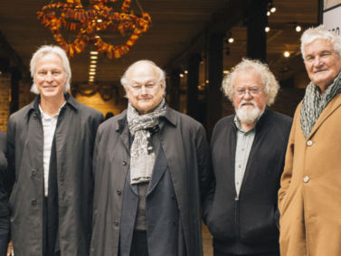 Masterclass tutors: (L-R) Brit Andresen, Peter Stutchbury, Glenn Murcutt, Lindsay Johnston, Richard Leplastrier.