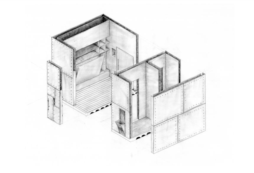 Daniel Rivers Axonometric
